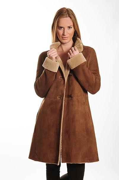 buy popular 749da f1253 17011 Cappotto Shearling Pelle di Agnello 100% Merino ...