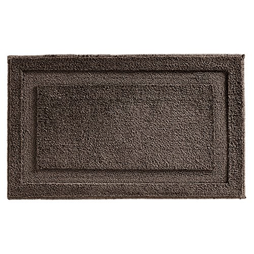 Rug Espresso - InterDesign Microfiber Spa Bathroom Accent Rug, 34