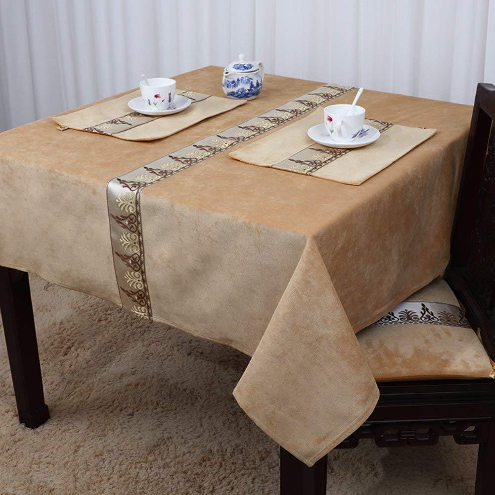 Shuangdeng ヨーロッパスタイル、田舎風、テーブルクロスクラシック、シンプル、中華風、テーブルクロス (Color : K, サイズ : 140x220cm(55x87inch))   B07S65TGKL