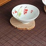 "yazi Kung Fu Tea Set Mat Natural Bamboo Tablemat Slat Handmade Bamboo Curtain Decor Placemat Tea Table Runner 39"" L x 20"" W"