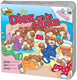 img - for Diez en la cama (Ten in the Bed) Read & Sing Along Board Book With CD (Read & Sing Along Board Books with CDs) (Spanish Edition) book / textbook / text book