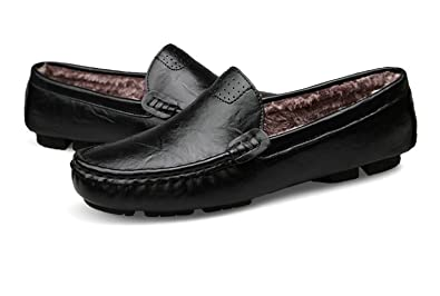 63ab29d62 Big Size 36~50 Genuine Leather Men Shoes Soft Moccasins Loafers Fashion  Brand Men Flats