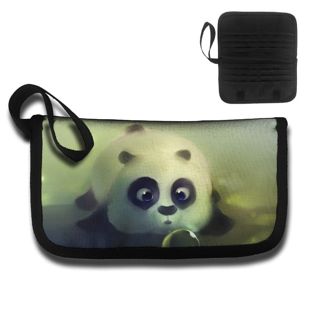 Gili Panda Focused On Water Droplets Travel Wallet Travel Passport /& Document Organizer Zipper