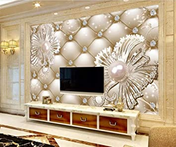 Buy Avikalp Exclusive Awz0292 3d Wallpaper 3d Soft Package Diamond Jewelry Flower Luxury Wall 5d Decorative Hd 3d Wallpaper 2 Ft X 3 Ft Online At Low Prices In India Amazon In