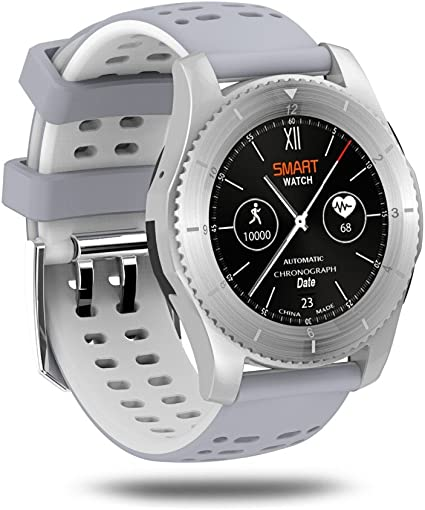 Amazon.com: KKtick no 1 GS8 Smartwatch Bluetooth 4.0 tarjeta ...