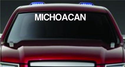 Amazon Com Dabbledown Decals Michoacan Large Version Car Truck
