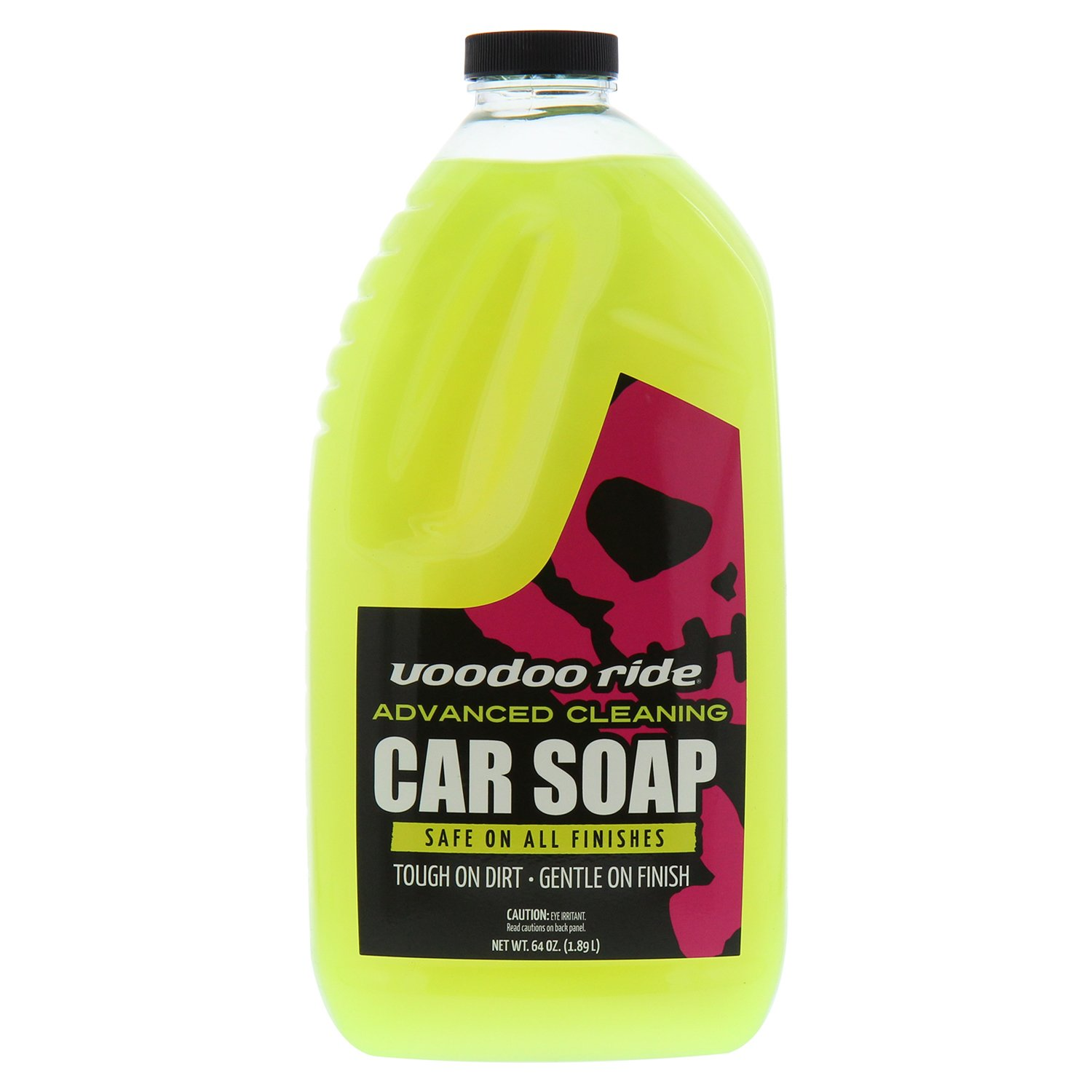 Voodoo Ride VR7764 Pilot Automotive Car Wash Concentrate-64 oz, No Color, 1 (Non-Carb Compliant)