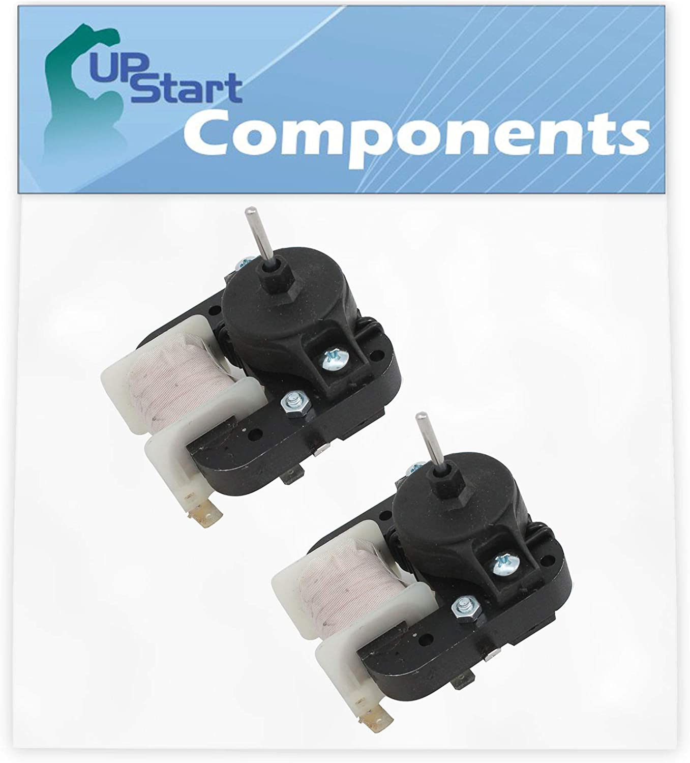 2-Pack W10189703 Evaporator Fan Motor Replacement for Kenmore/Sears 106.62159110 Refrigerator - Compatible with WPW10189703 Refrigerator Evaporator Fan Motor
