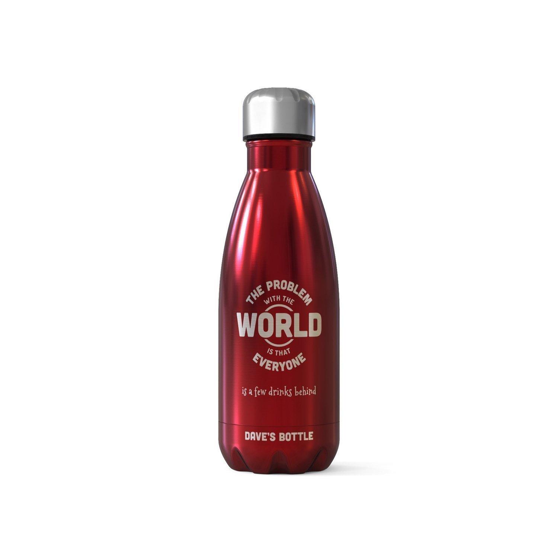 Frasco/botella para bebidas personalizado - Problem With The World