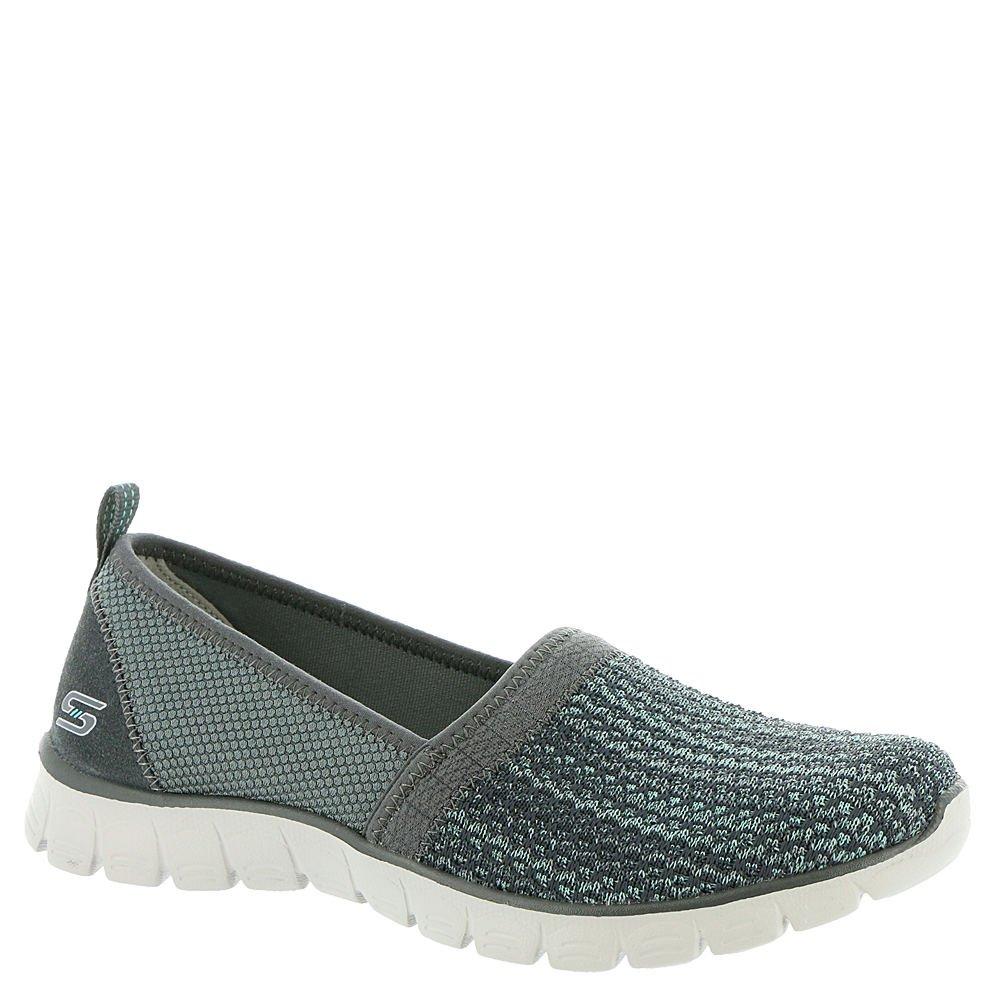 Skechers Women's Ez Flex Big Money Fashion Sneaker B01EOQD4XU 8 B(M) US Charcoal