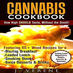 Cannabis Cookbook Audiobook