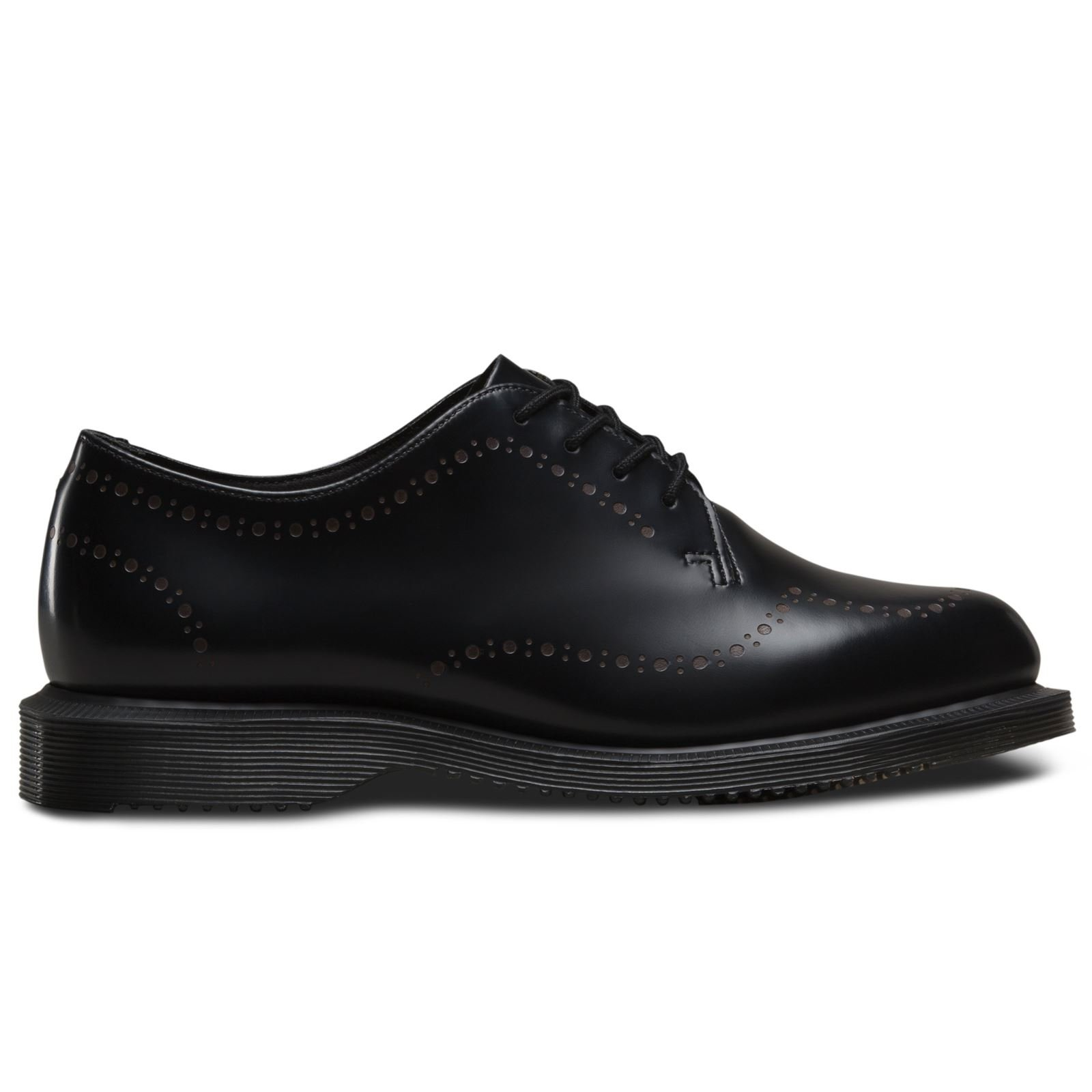 Dr. Martens Women's Charlotte Oxford, black, 5 UK/7 M US