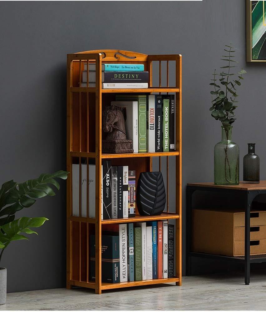 nouler Simple Shelf Racks Solid Wood Multi-Storey Floor Dormitory Dormitory Fashion Application Home,Four Floors,M