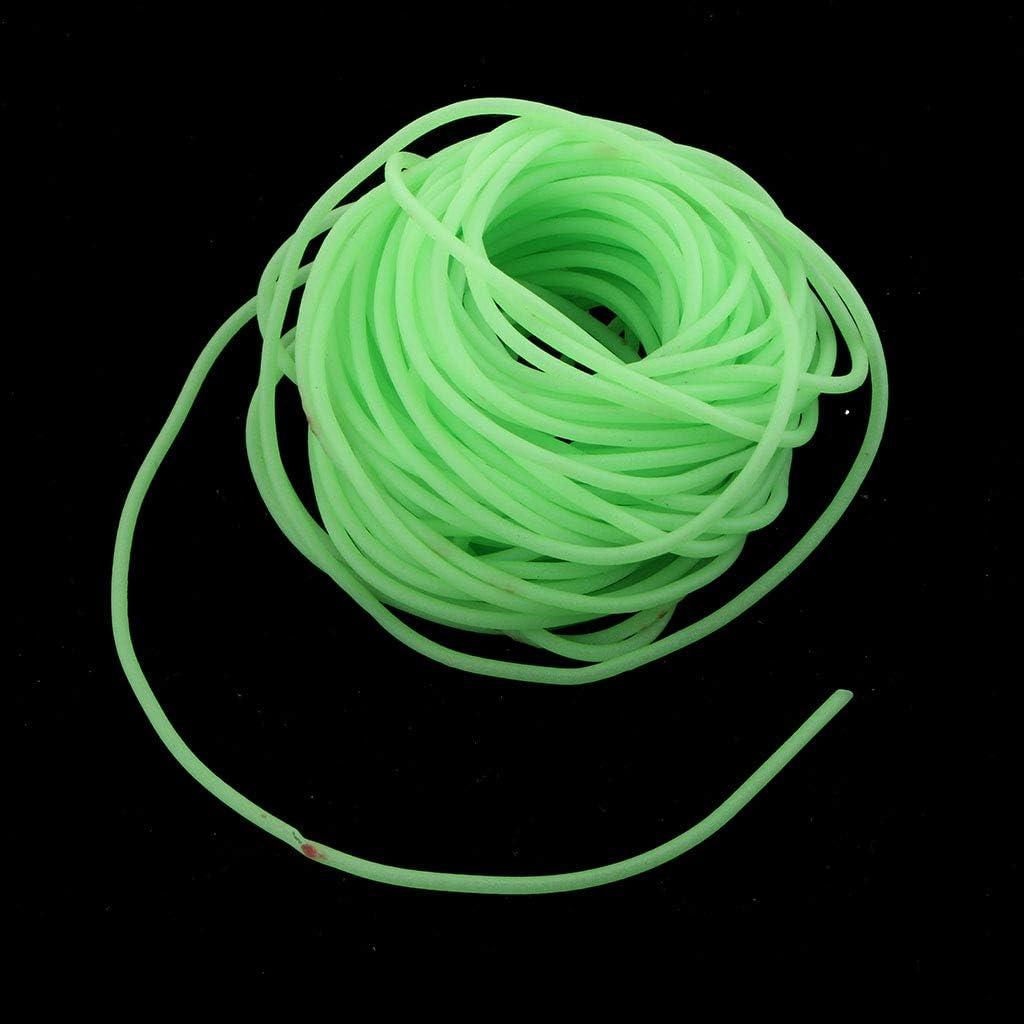 3pcs//set Plastic Saltwater Night Fishing Luminous Tube Glow in Dark Tubing
