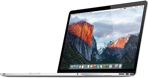 Title Apple MacBook Pro 15 4 i7 4980hq 2 8 GHz 16 GB 512 GB SSD US Keyboard QWERTY MJLQ2LL A mid 2015 Silver Generaluberholt