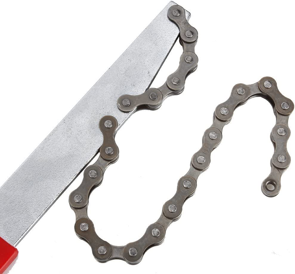 Tmand Bike Cassette Removal Tool with Chain whip and Auxiliary Wrench Bicycle Sprocket Removal Tools Sprocket Remover