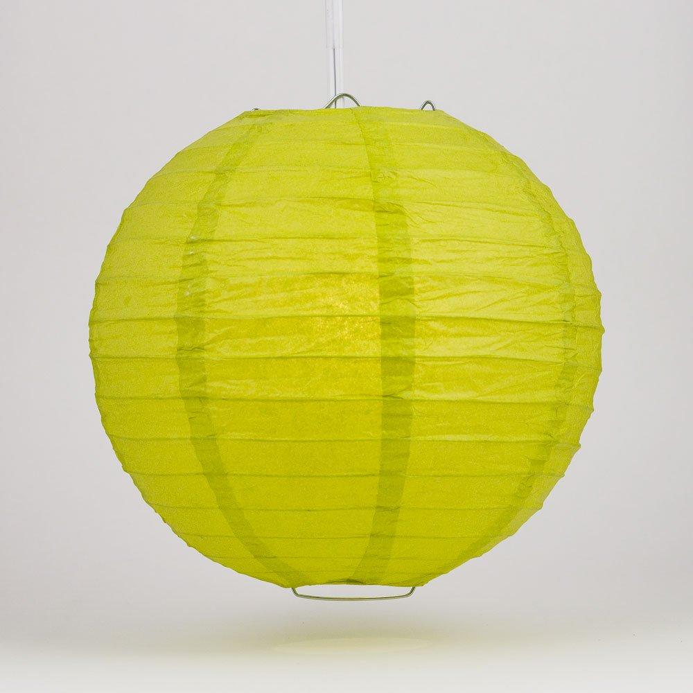 球体ペーパーランタン うね織り模様 ぶらさげるのに(電球は別売り) 30 Inch 30EVP-CH 1 B009Z2UISS 30 Inch|ライトグリーン(chartreuse) ライトグリーン(chartreuse) 30 Inch