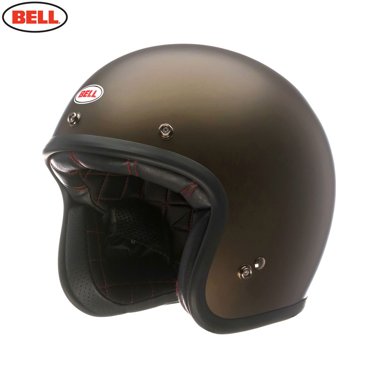 Bell Helmets Street 2015 Custom 500 Casco Adulto, color Marrón metalico mate, talla XL: Amazon.es: Coche y moto
