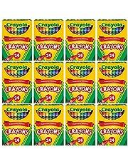 Crayola Crayons Bulk, 12 Crayon Packs with 24 Assorted Colors