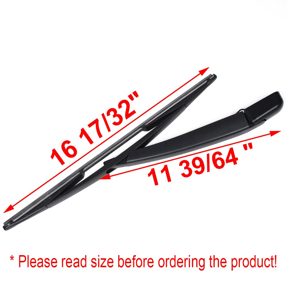 Rear Window Wiper Arm Blade Fit For 2008 2015 Dodge Grand Caravan Chrysler Town Country New 2012 And 36 Fuse Box Automotive