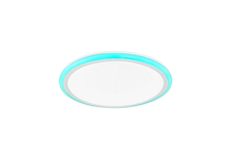 ACTION by WOFI 977902066500 977902066500 977902066500 A+ Deckenleuchte, Plastik, 32 W, Integriert, weiß, 50 x 50 x 9 cm 1f3be5