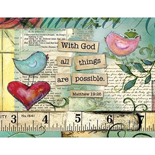Lang with God Boxed Notecard by Lisa Kaus, 4 x 5 Inches, 13 Cards and Envelopes (1005289)