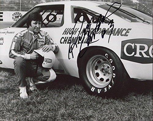 - RICHARD CHILDRESS HAND SIGNED 8x10 PHOTO+COA RARE POSE AS NASCAR DRIVER - Autographed NASCAR Photos
