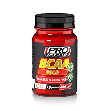Promuscle Bcaa Amino Ac200cpr