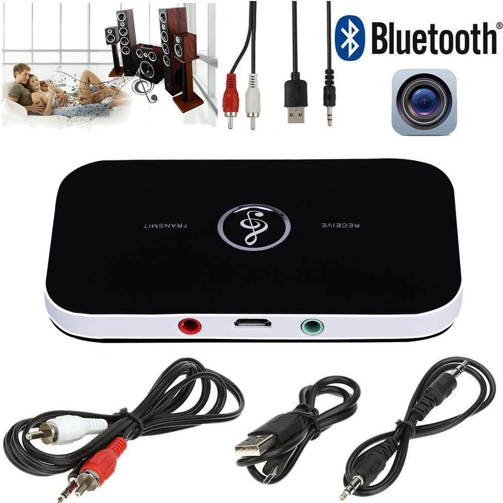 Soulitem Sans fil Bluetooth 4.1 é metteur ré cepteur sté ré o audio 3.5mm adaptateur pour té lé phone mp3 tv pc portable
