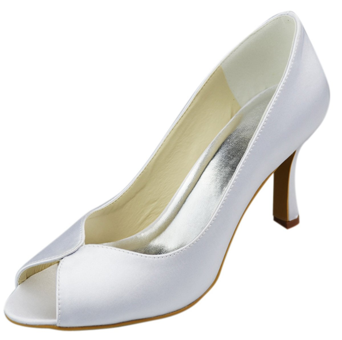 Minitoo , Blanc blanc Peep-Toe femme Blanc 1192 - blanc b7db9c5 - therethere.space