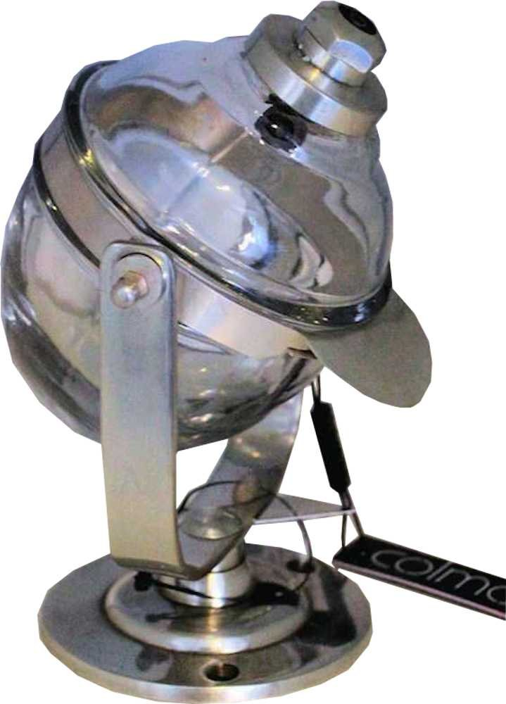 Swivel Soap Dispenser in Antique Silver by Colmore