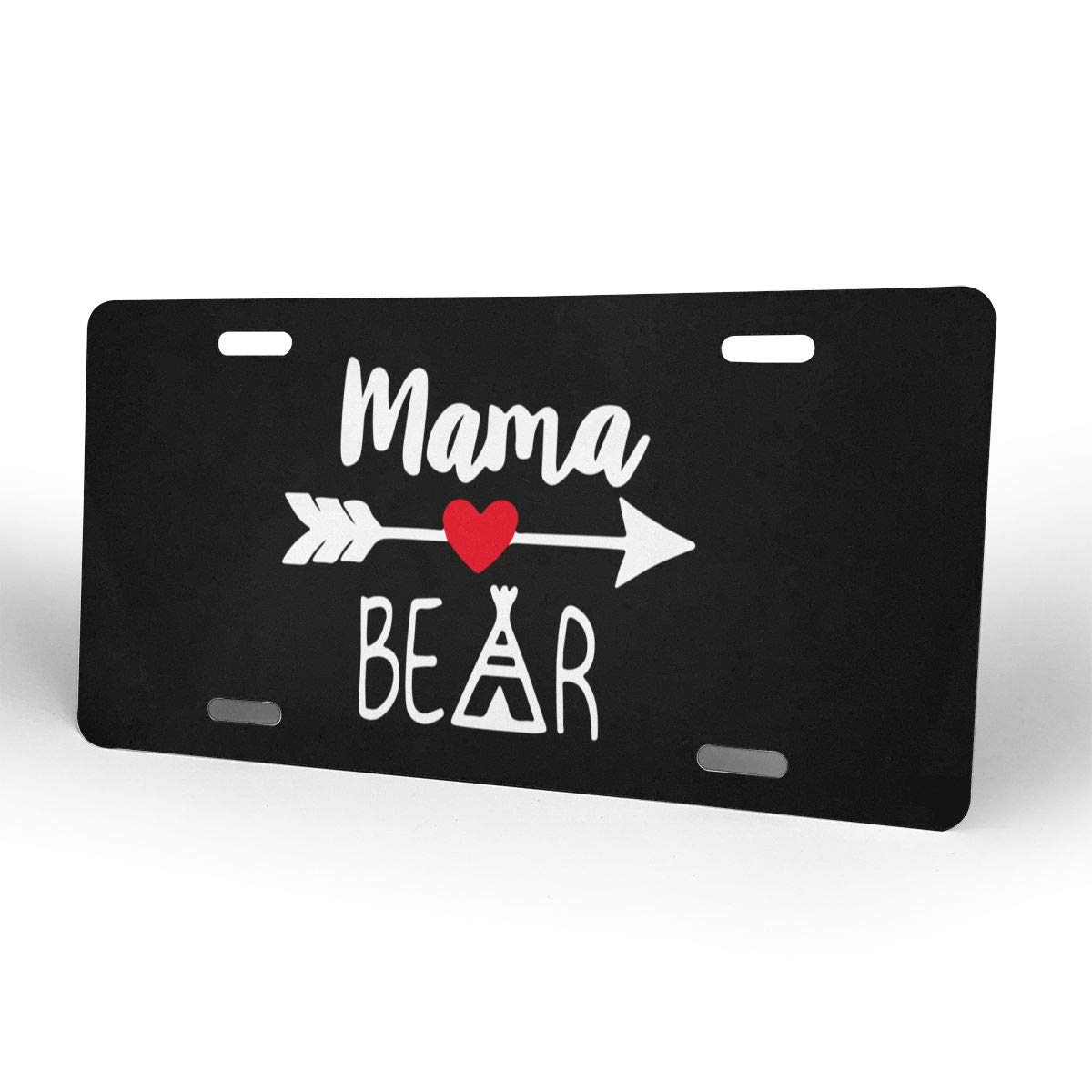 Mama Bear Cool License Plate Decorative Front Plate 6 X 12 Inch
