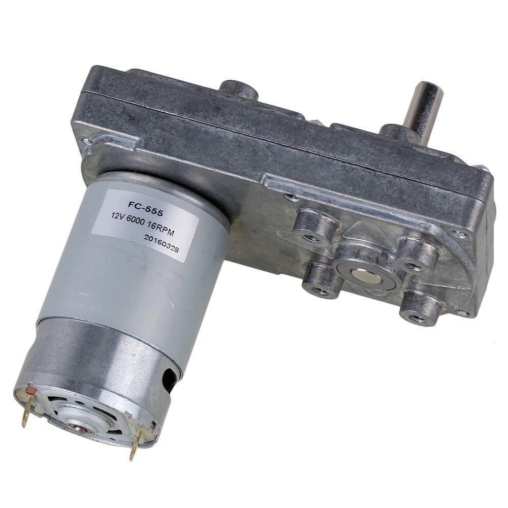 cnbtr cuadrado alta velocidad de par Reducir 12/V el/éctrico DC Gear Motor con Metal Orientado Box