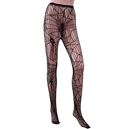 0b37e50c5 Buy Halloween Style Skull Head Design Sexy Women Stretchy Fishnet Tights  Stockings High Waist Net Pantyhose Large Hole Mesh - Free Size (Black)  Online at ...