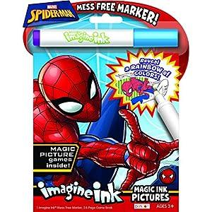 Bendon 40923 Spider-Man Imagine Ink Magic Ink Pictures