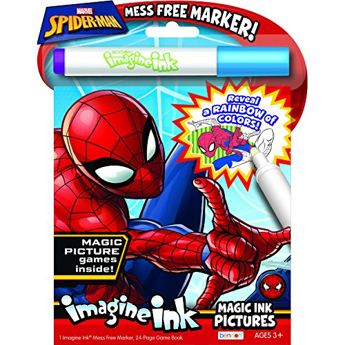Bendon 40923 Spider-Man Imagine Ink Magic Ink Pictures]()