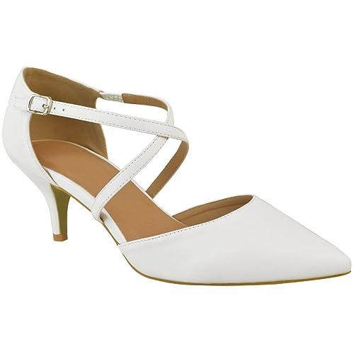 Baile Tiras Zapatos De Números Tacón Thirsty Sandalias Bajo Salón Fiesta Fashion Boda Heelberry Mujer QxrdWCBoEe