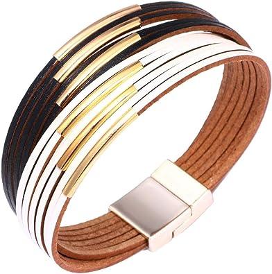 bracelet cuir fantaisie