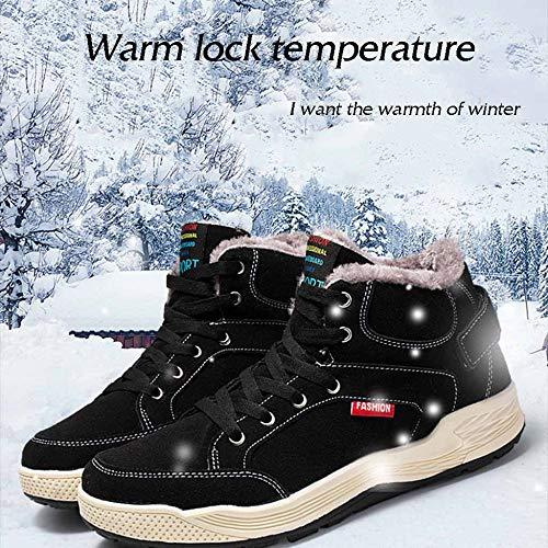 sportive Stivali invernali neve per uomo e da scarpe calde XRgwqa