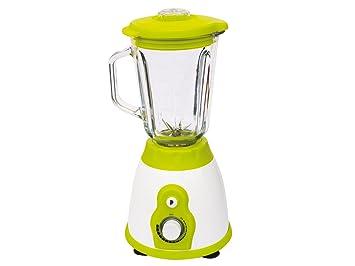 Gio Style 2900 batidora con vaso de cristal, 400 W, color blanco/verde