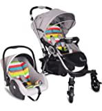 R For Rabbit Travel System Chocolate Ride - Baby Stroller