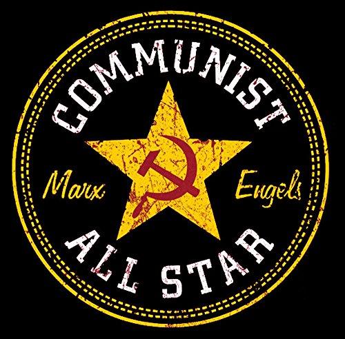 Converse ALL STAR Communist Marx Engrls Top Tank T-Shirt -2014