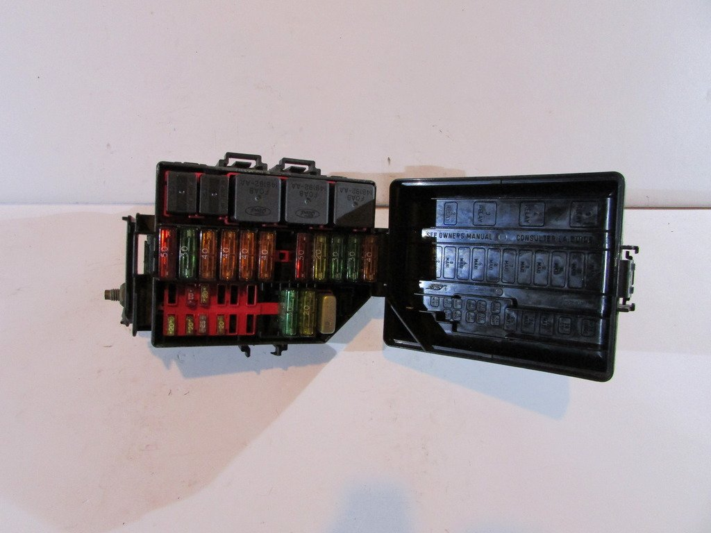 Amazon.com: 99-04 Ford Mustang Relay Fuse Box Block Panel Warranty # 732:  Automotive