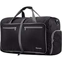 Gonex 40L Packable Travel Duffle Bag for Boarding Airline, Lightweight Gym Duffle Water Repellent & Tear Resistant