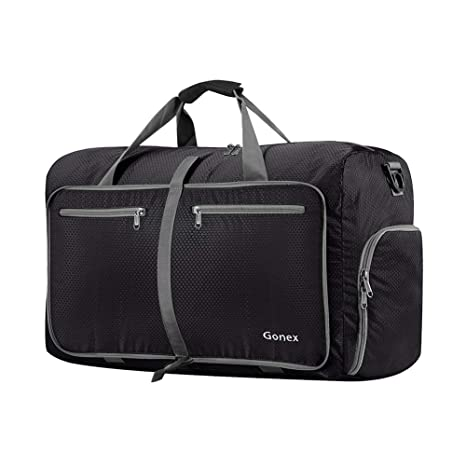 a2756bebdbee Amazon.com  Gonex 40L Packable Travel Duffle Bag for Boarding ...