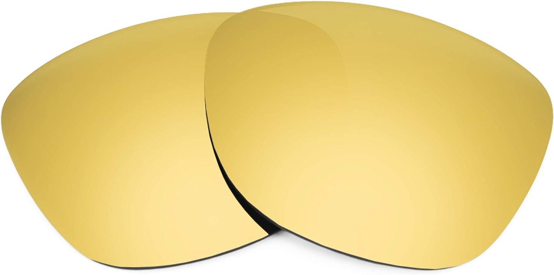 Revant Verres de Rechange pour Oakley Mainlink - Compatibles avec les Lunettes de Soleil Oakley Mainlink Or Mirrorshield - Polarisés Elite