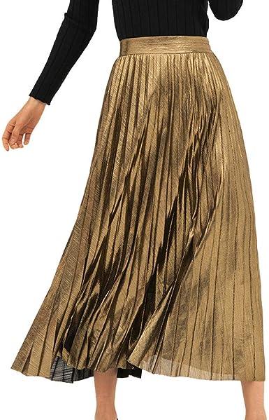 ACEBABY Falda de Playa Plisada elástica con Estampado en Caliente ...