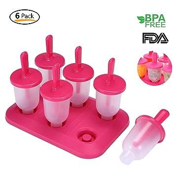 6 Stieleis Form Für Baby Kinder Aolvo Eisformen Eis 100 Bpa Frei