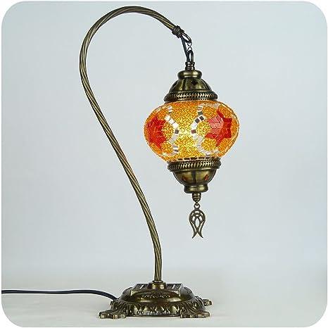 Marrakesch mosaico cristal bombilla lámpara de pie Lámpara ...