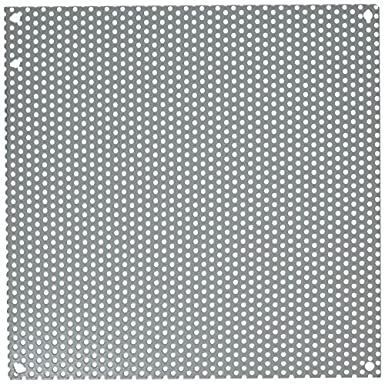 HOFFMAN A12N12PP Interior Panel,Steel,10.25in.Hx10.25in.W